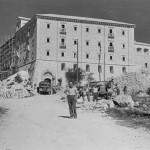 L'Abbazia in ricostruzione