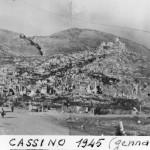 Le macerie di Cassino 1945