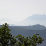 L'Abbazia di Montecassino vista dalla Via Benedicti